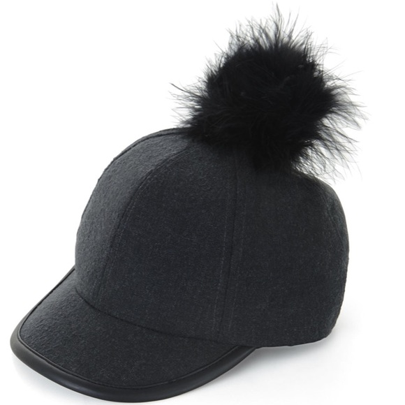 BCBGeneration Accessories - BCBG Pom Baseball Hat a9eb4407e19a